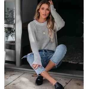COLLEEN Crew Neck Pullover Sweater